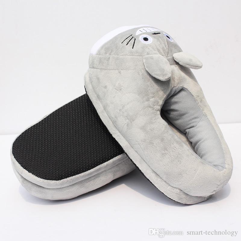 Mein Nachbar Totoro Plüsch Schuhe weichen Winter Indoor Slippers Für Erwachsene 11