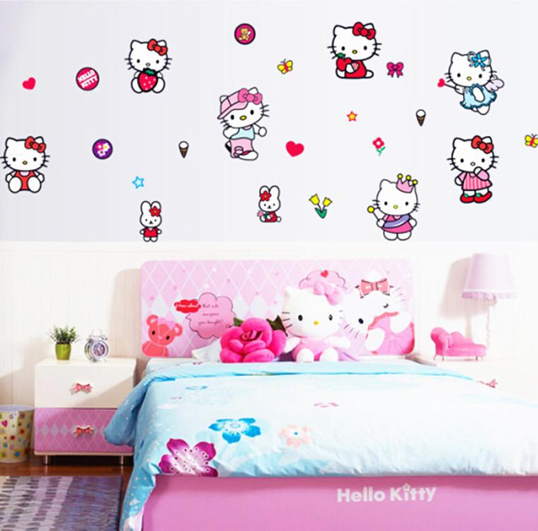 Hello Kitty Princess Wallpaper For Kids Wall Decals Home Decor