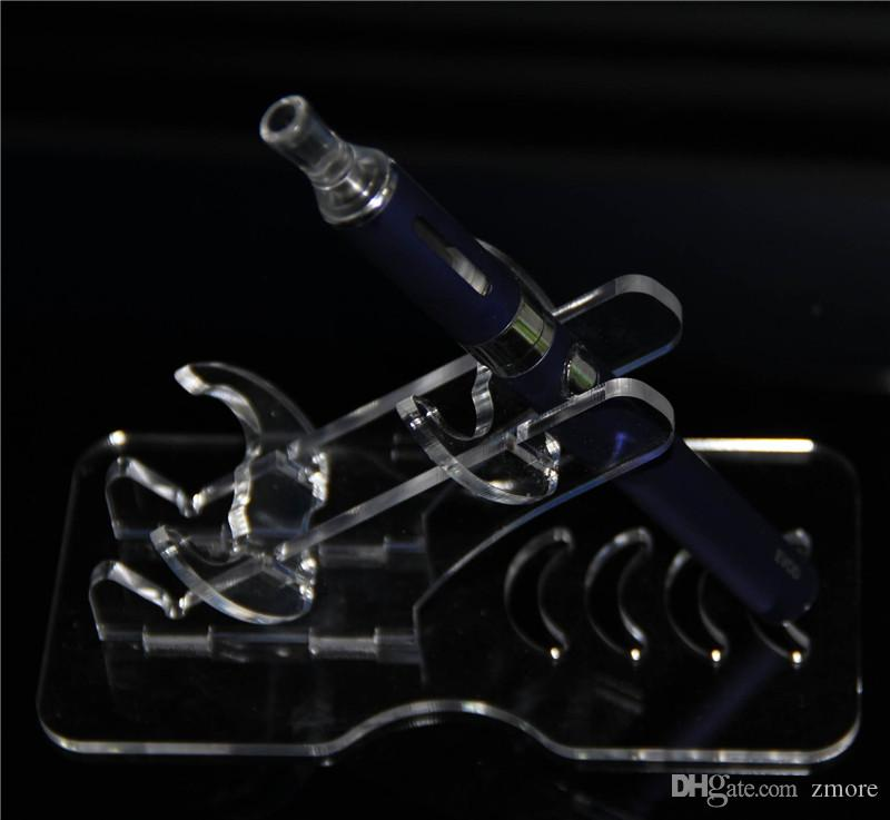 ecig display mod stands stands rack acrílico clear escaparate titular para e cig kit vaporizador pluma cigarrillo electrónico ego caja mods batería