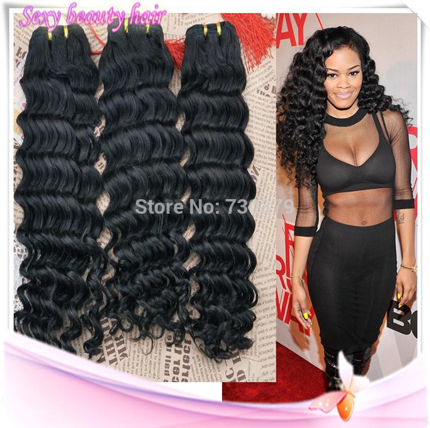 Rihanna deep wave virgin brazilian human hair 3 bundles 100 cheap deep curly virgin hair best types virgin hair pmusecretfo Gallery