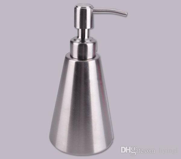 Schaum Hand Seifenspender Schaumpumpe Flasche 310ml Edelstahl Shampoo Lotion Desinfektionsmittel Badaccessoires Küche Hotelbedarf
