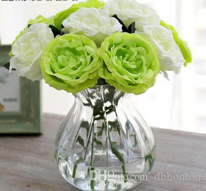Silk artificial flowers simcer rose home decorations and party wedding decorative hot sell item good quality