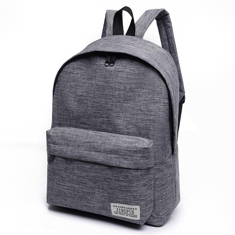 9f7d8b9b8bb5 Canvas Backpack Women Men Large Capacity Laptop Backpack Student School Bags  for Teenagers Travel Backpacks Mochila School Backpack Women Backpack Women  ...