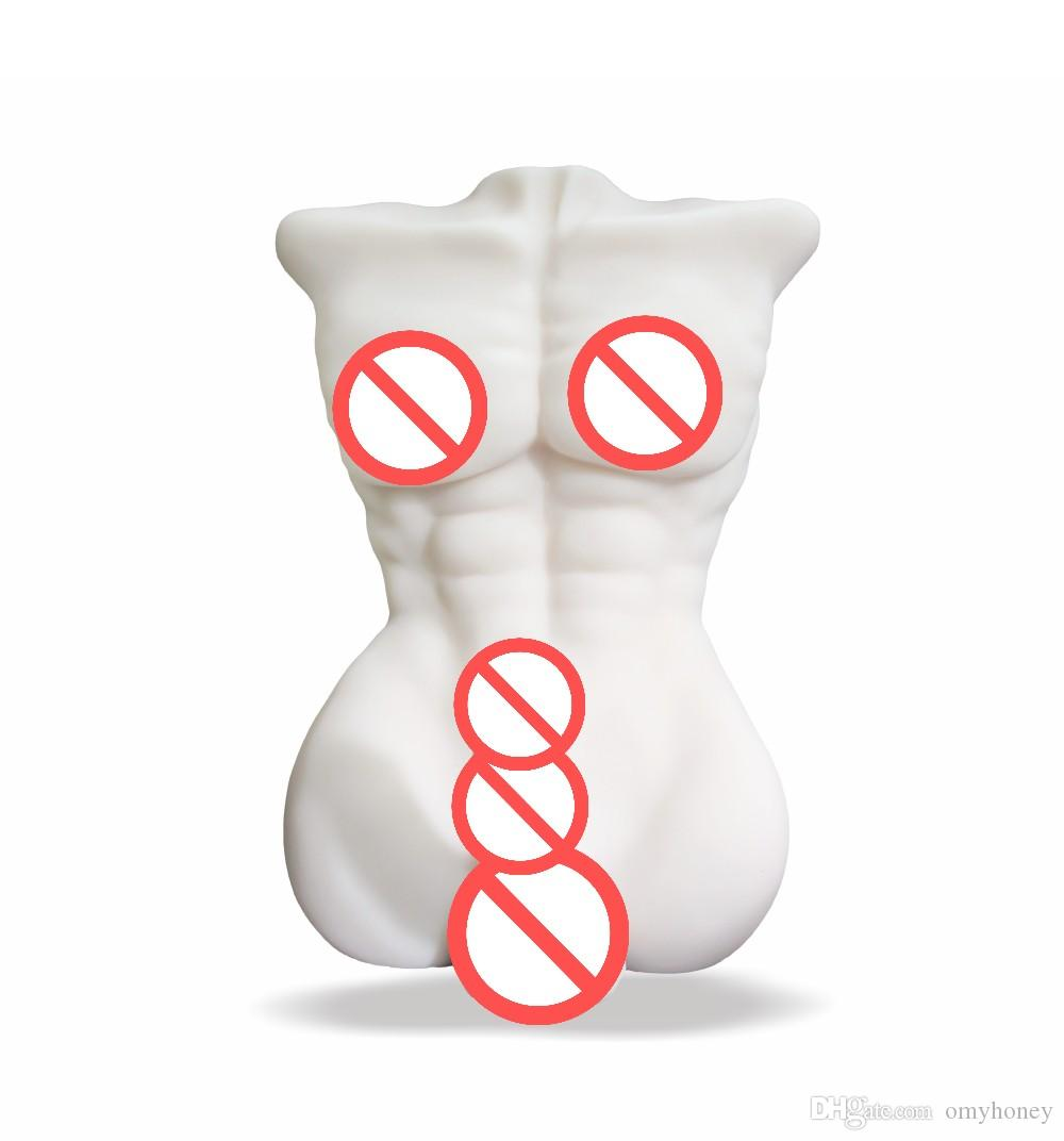 new design white color 3D realistic solid silicon sex dolls for women with dildo penis dongs sex toys, love dolls, sex machines