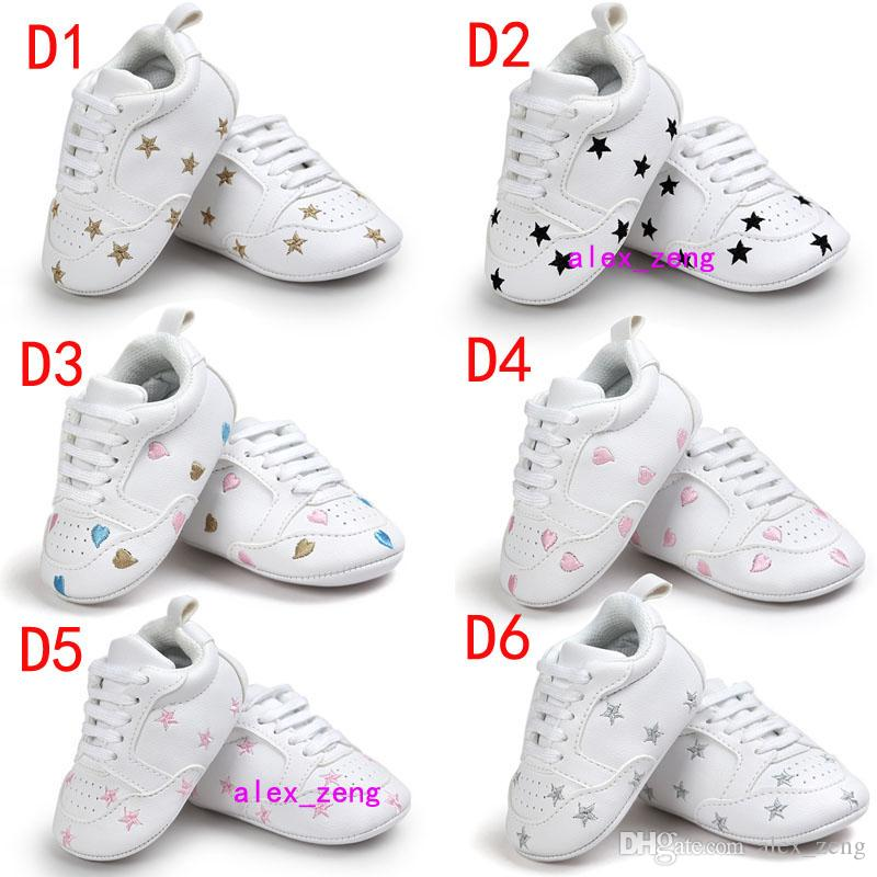 Çok Stilleri Bebek Ayakkabı kaymaz Tabanlar Erkek Bebek Kız bebek Ayakkabı Şeker Renkli İlk Walker ayakkabı Moda Renkli Yay Püskül Toddlers Sho