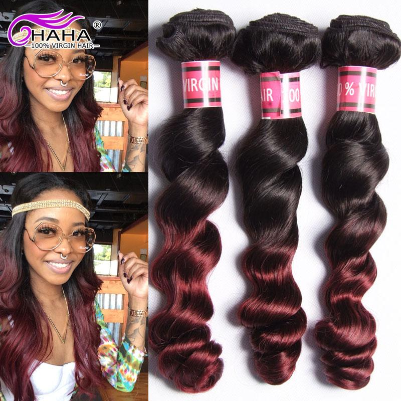 Cheap grade 7a peruvian loose wave human hair bundles 1b99j red cheap grade 7a peruvian loose wave human hair bundles 1b99j red loose curl hair extension tissage dark red ombre loose wave weft hair remy hair weave remi pmusecretfo Images