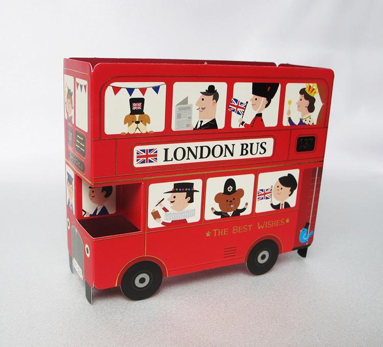 3d Handmade Cards London Bus Creative Birthdays Card Greeting Card – London Birthday Cards