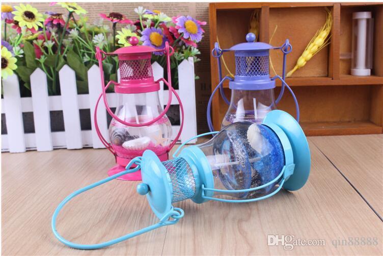 Mini nouveauté Gel Cire Bougie Petite Pendentif Lampe Bougies En Gelée Pour Joyeux Anniversaire Décoration De Fête De Mariage