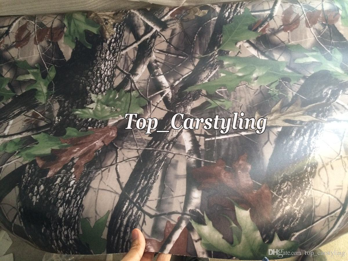 New Matte Realtree Camo Vinyl wrap real tree leaf camouflage Mossy Oak Car wrap Film foil for Vehicle skin styling covering foil 5x99ft