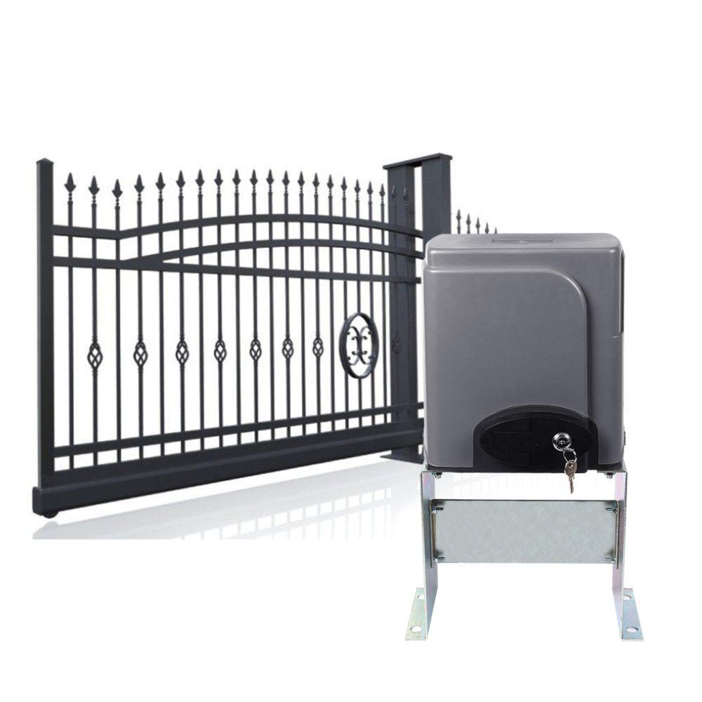 2018 automatic sliding gate opener hardware with 2x for Sliding gate opener motor