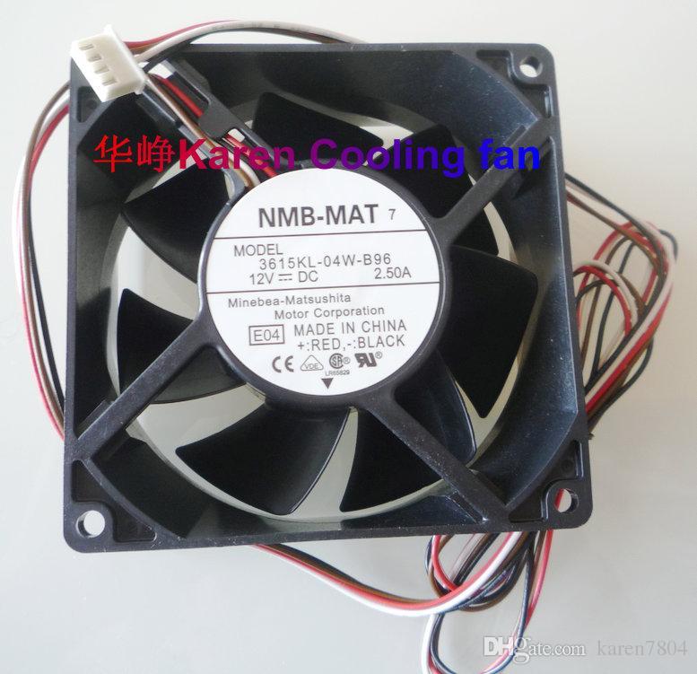 Nuevo original 9cm 3615KL-04W-B96 9238 12v 2.5a 4Wire ventilador de refrigeración