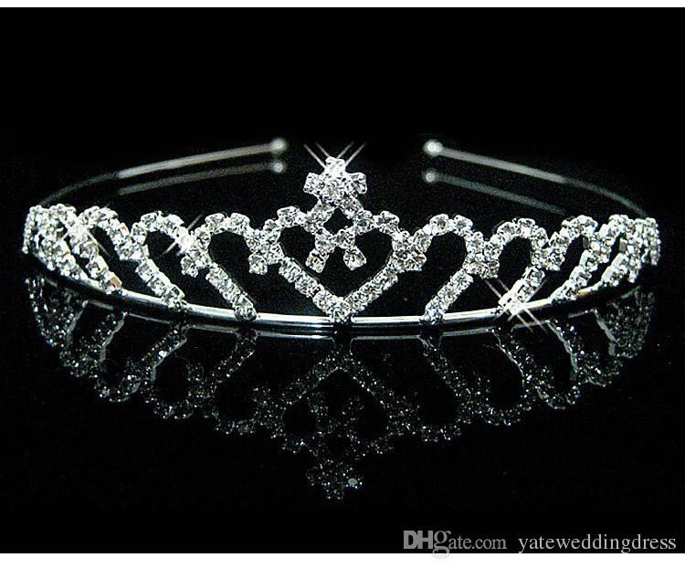 8 Style Tanie Bridal Tiara Kryształy i Perły Zroszony Zespoły Bridal Akcesoria 2016 Formalne wydarzenie Włosy Włosy Darmowe Wysyłka Dżetów
