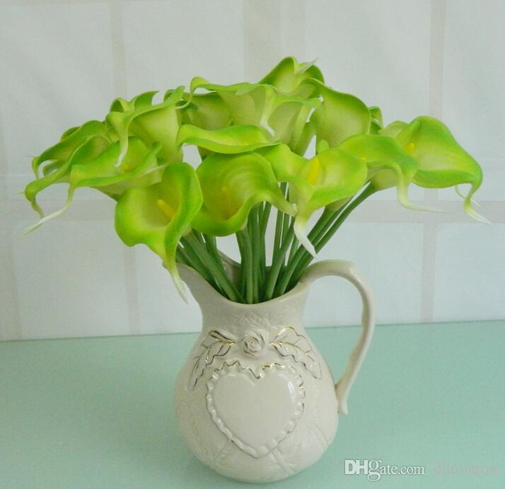 Calla Lily Bride flowers PU Real Touch flower PU artificial flowers home party decorations wholesaler HP005