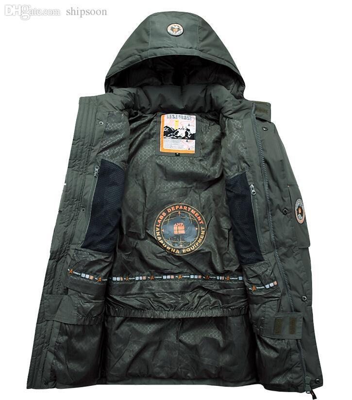 taille 40 a3981 f414f Fall-2016 Napapijri bas veste anorak hommes arctic parka homme chaquetas  plumifero hombre invierno veste homme hiver winterjas heren