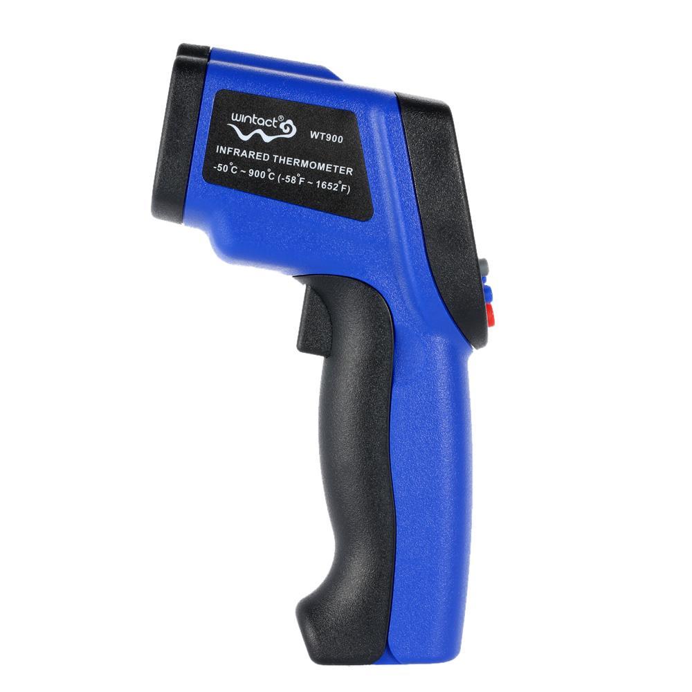Freeshiping -50 ~ 900 grados Digital LCD Laser IR termómetro infrarrojo sin contacto termometro Professional Temperature Tester Pirómetro Range