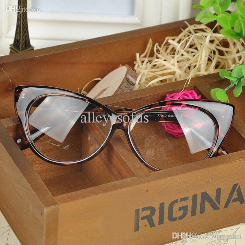 Großhandel Plain Eye Frame Sonnenbrille Spectacle Katze Augenbrille ...