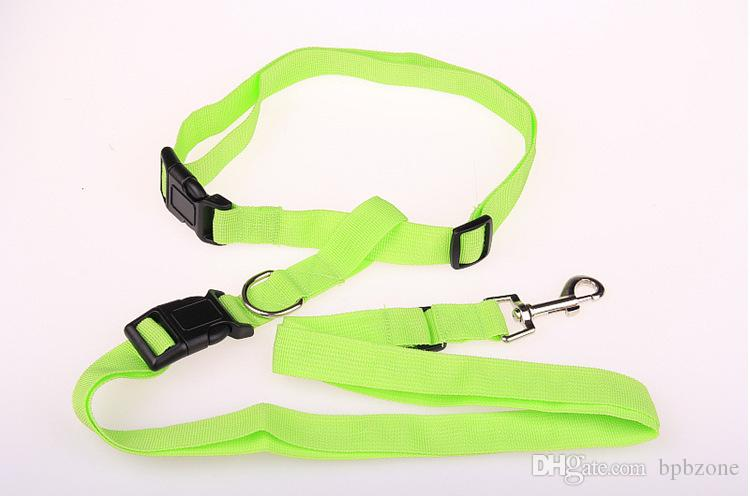 Pet Supplies Dog Leashes Free Jogging Nylon Dog Lead Dedicated Morning Run slip Leashes for sale