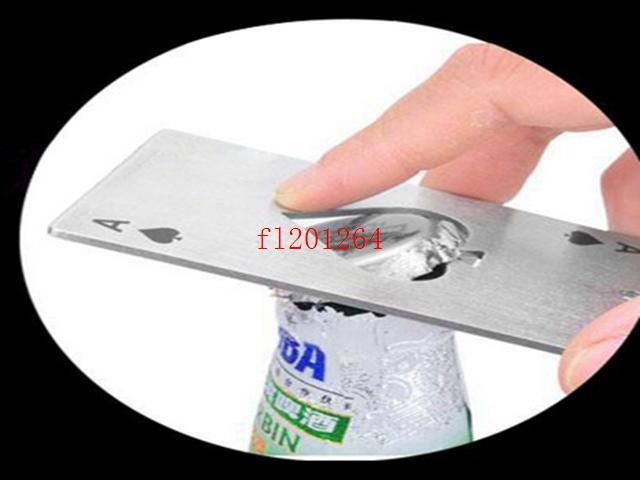 / 무료 배송 포커 카드 놀이 스페이드 바 도구 에이스 맥주 비어 오프너 선물 에이스
