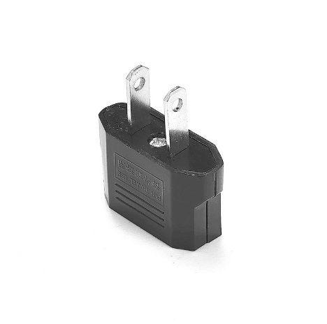 Hot Selling!US USA to EU Euro Europe Power Jack Wall Plug Converter Travel Adapter