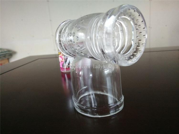 Vibrator massager AV wand special hood accessories penis sleeve glans exercise device male masturbator sex toys for men