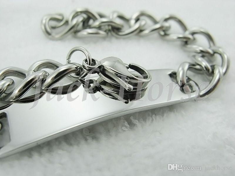 Wholesale High quality fashion design 316L stainless steel cowboy style bracelet jewelry for men