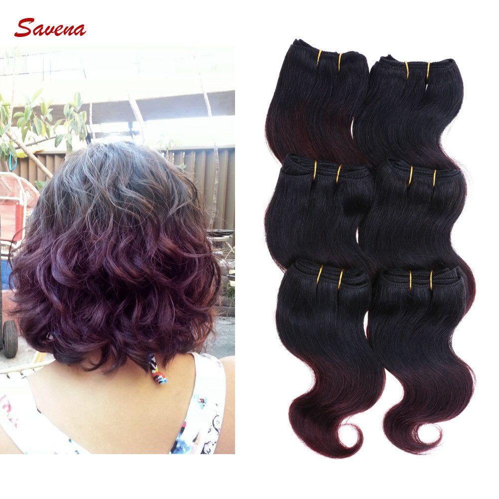 Malaysian Virgin Hair Cheap 6a Body Wave Weft 8 Inch Human Hair