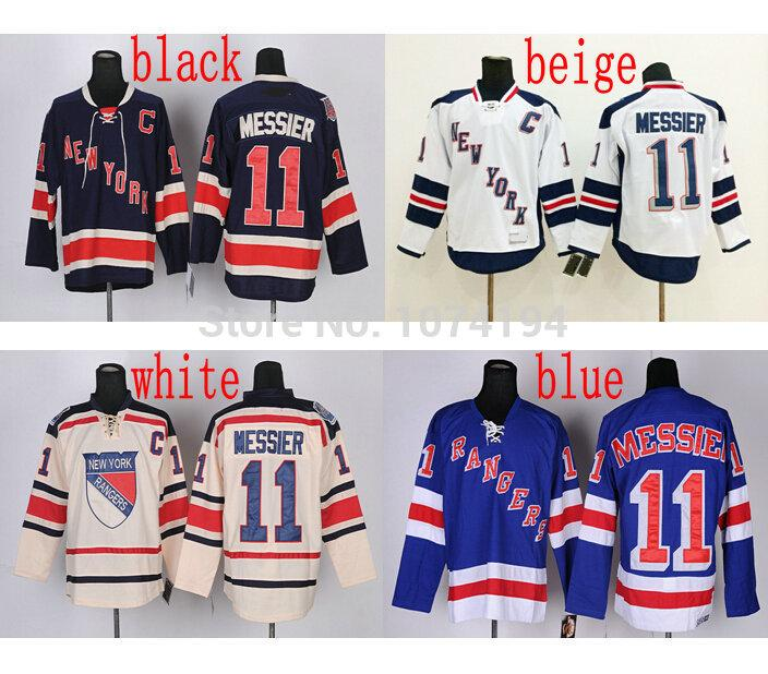 the latest 67cff 9f5ea Discount New York Rangers #11 Mark Messier Jersey Blue Top Quality White  Winter Stitched Hockey Jersey New Arrival!!! Cheap Sale