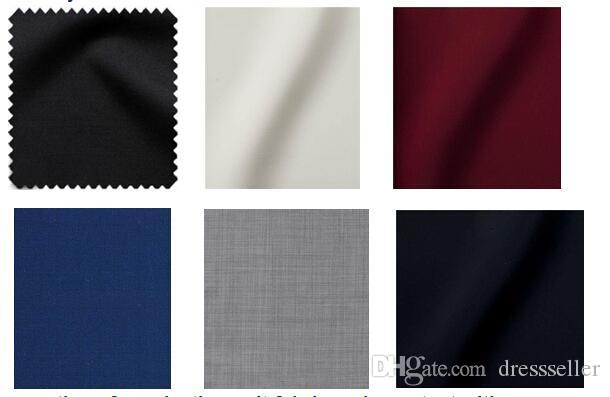 Customized One Button Wedding Suits for Men  Coat+Trousers+ Inner Vest+Tie High Quality Groom Tuxedos Mens Bridegroom Suits