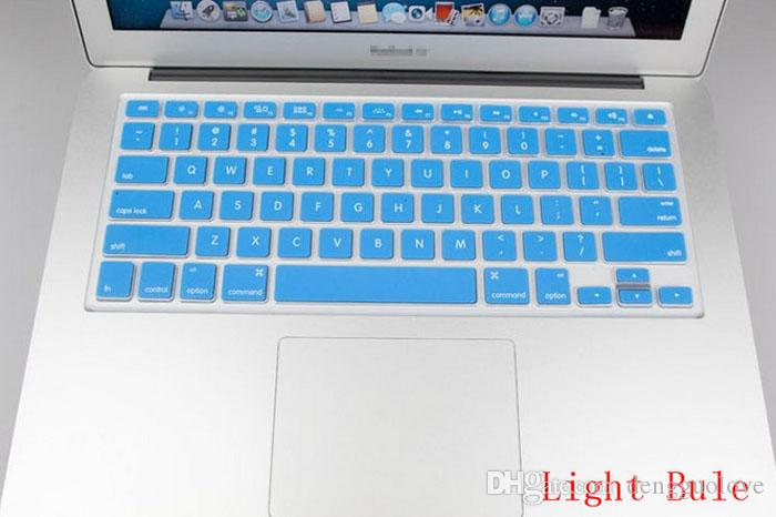 """By DHL/FEDEX Silicone Keyboard Cover For Apple Macbook AIR PRO RETINA 11"""" 12"""" 13"""" 15"""" 17"""" US English Keyboard Protector"""