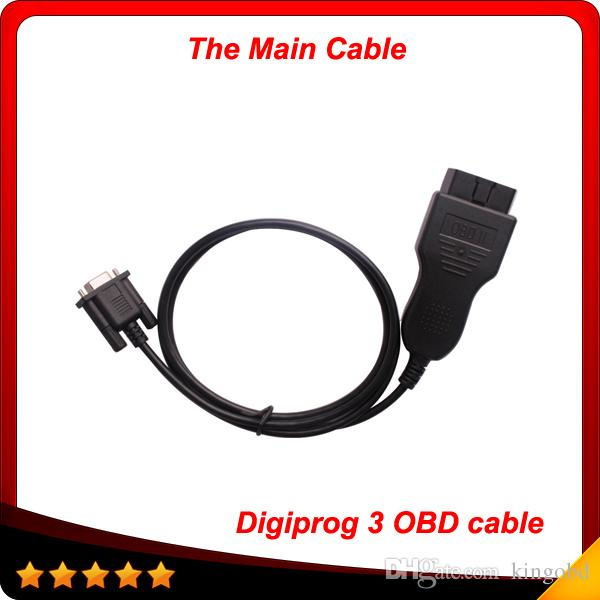 Digiprog 3 obd cable odometer correction tool the main cable for digiprog iii