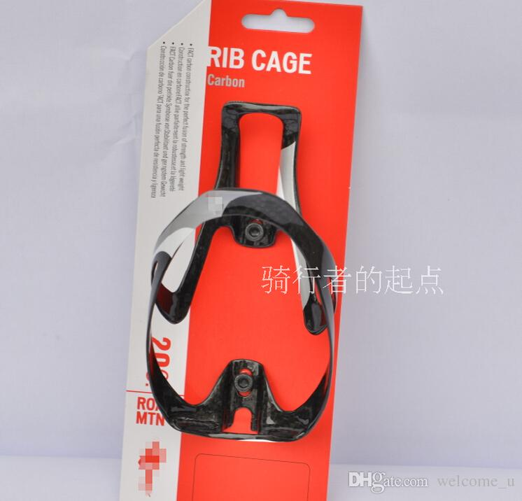 Road Bicycle Cage Carbon Fiber Water Bottle Cage Carbon Fibre Bottle Holder,other full carbon bottle rack is available