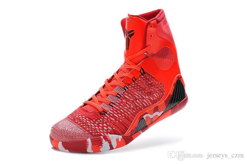 Cheap Kobe 9 Elite High Cut Mens Basketball Shoes Size 8 12 Mens ...