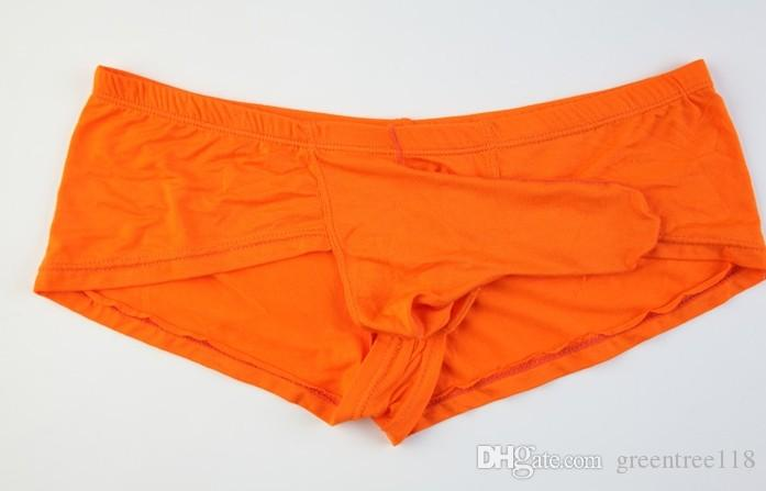 189a667cefb72d Men's underwear men's briefs low waist sexy bump JJ sets modal bullet  clutch aircraft pants elephant trunk pants