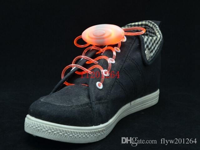 送料無料2015新しいスタイルのGen 3 Glow LEDフラッシュレースLED Shoestring Muti-Color LED靴在庫、100個/ロット(= 50ペア)