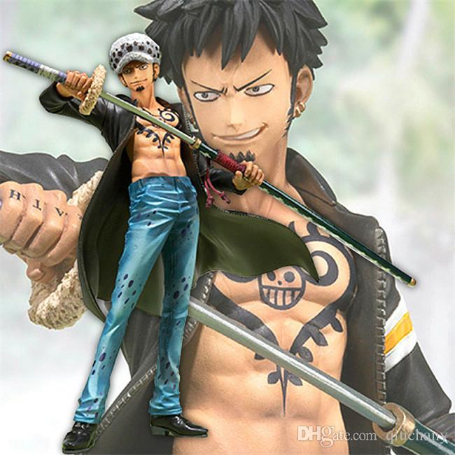 170618 QIUCHANY Anime MegaHouse Dimension Of One Piece Trafalgar Law 15cm PVC Model Gifts Action Figure