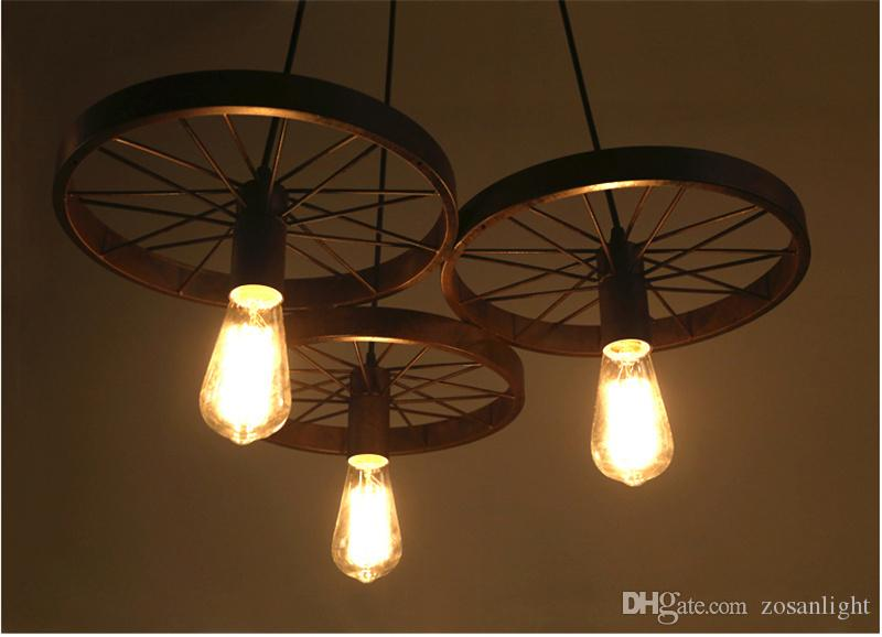 110 V 220 V LED Lampade A Sospensione Incandescente E12 E14 E27 Lampade A Sospensione A LED A LED Misura Soggiorno Ferro Materiale ty-005