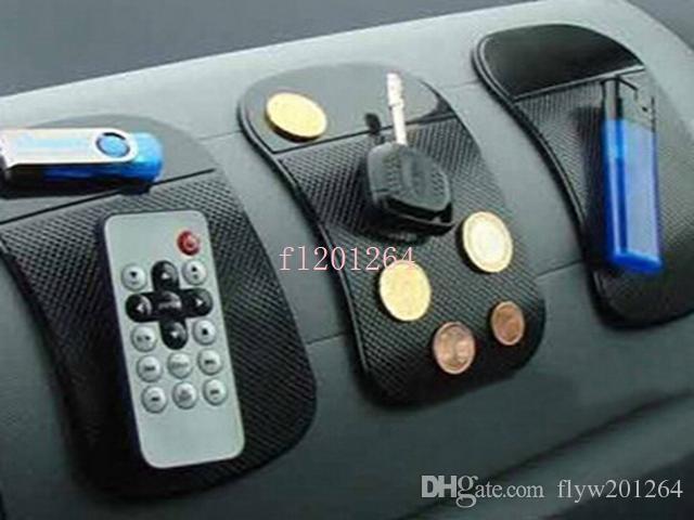 Бесплатная доставка мощная волшебная липкая подушка против скольжения без скольжения коврик для телефона PDA MP3 MP4 автомобильные аксессуары 6 цветов, 5 шт. / Лот