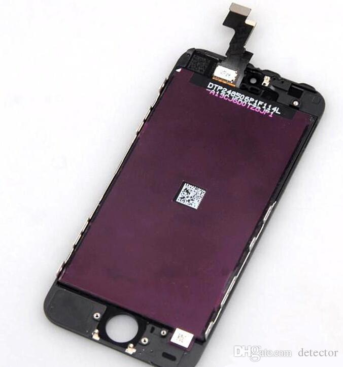 LCD For iPhone 5S 5C 5G Original iPhone 5 LCD Touch Screen iPhone LCD Full Set Assembly White and Black Color