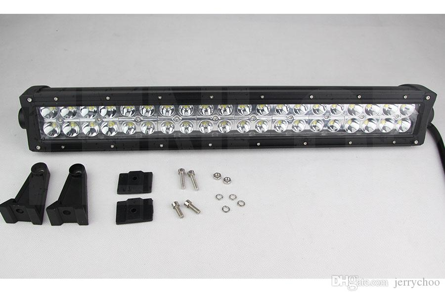 22 linhas Inch Epistar 120W LED Light Bar dupla para ATV 4 * 4 Caminhão Offroad 12V 24V Waterproof Dustproof Anti-Sísmica