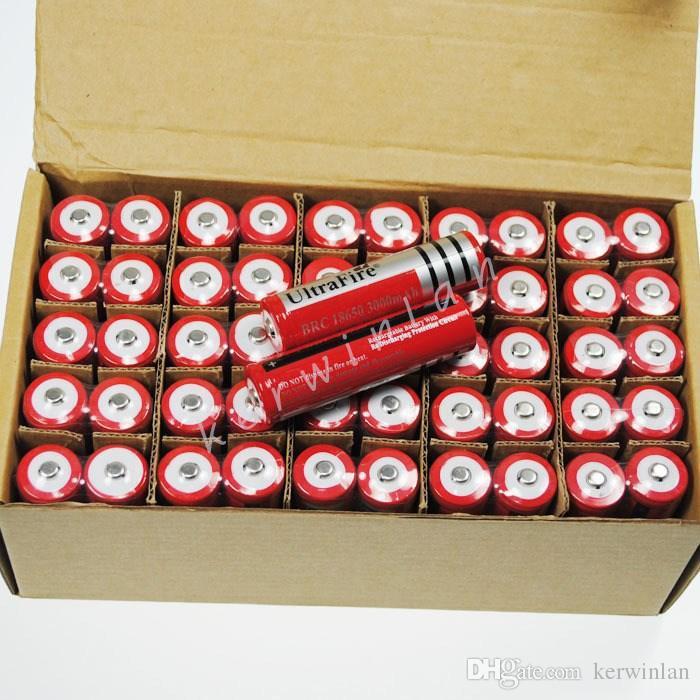 Nowy Ultrafire 18650 4.2 V 3.7 V 4200MAH Ultrafire 18650 Akumulator litowy Litowo-jonowy z PCB do Palocha E Papieros Camera