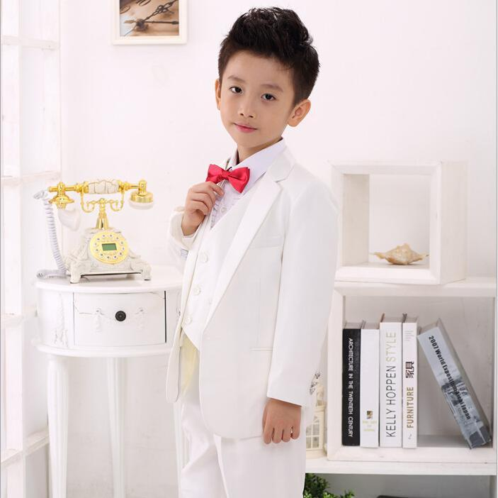 handsome white black prince boys wedding suits formal tuxedos for baby boy suits for weddings custom made kids clothing sale online