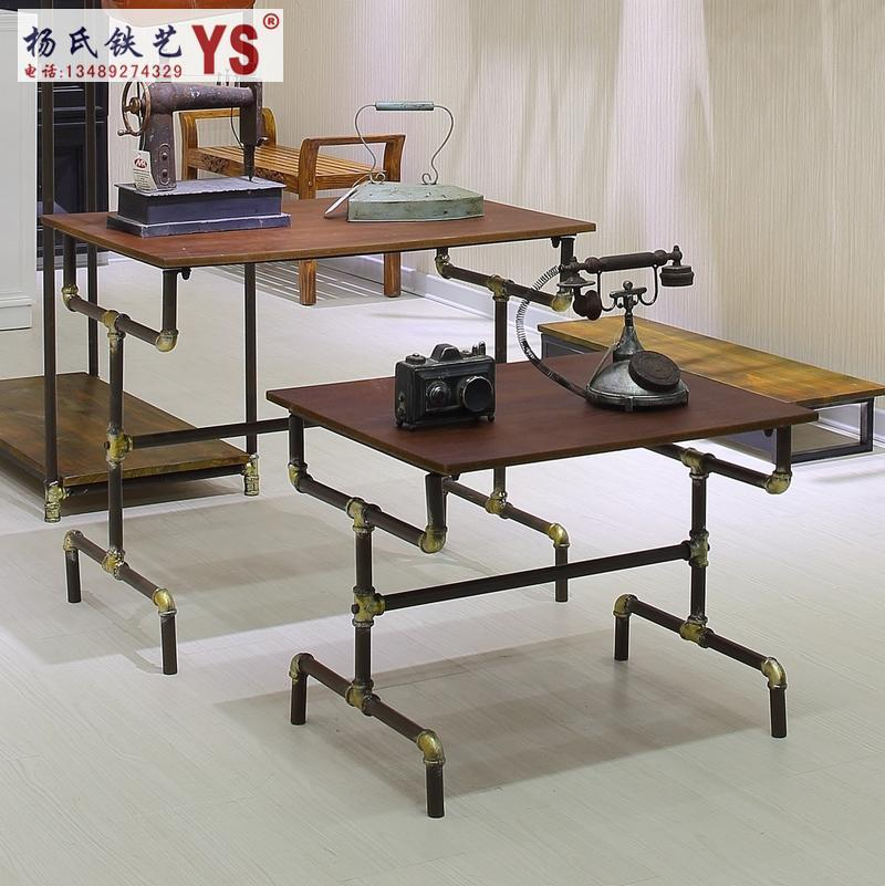 2018 Fashion Clothing Rack Iron Clothes Store Shelves In The Island Shelf  Display Floor Side Pylons Water Table Iron Wood From Xwt5242, $350.44 |  Dhgate.Com