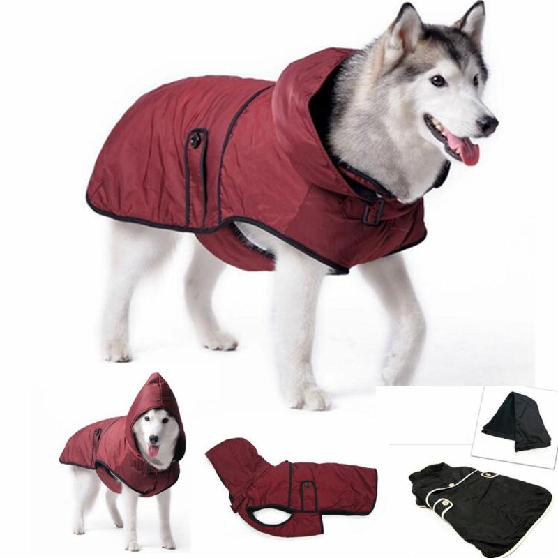Large Dog Clothes Warm Winter Jacket Coat Waterproof Clothing For