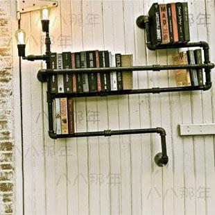 2018 Wall LightWall Lamp Light Water Pipe Bookshelf Lights Chalybeate Metal From Cervelo 35229