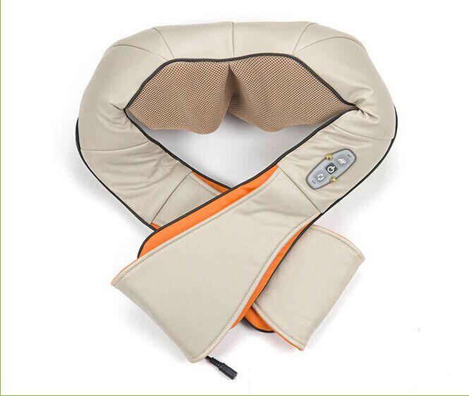 Çok fonksiyonlu sağlık araba ev yastık masaj akupunktur yoğurma boyun omuz masajı Darsonval anti selülit vücut masajı dinlenmek