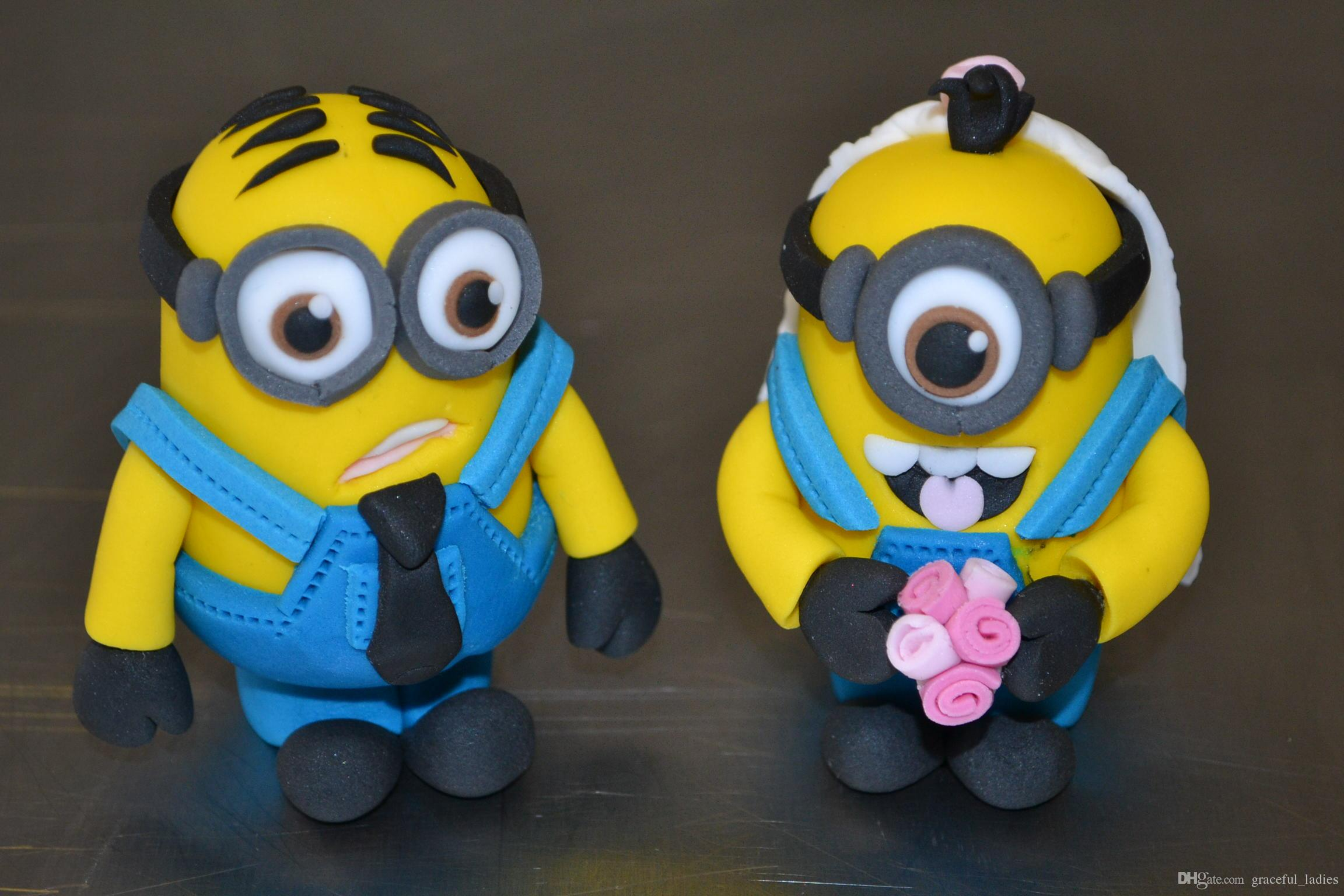 Personalised Cake Toppers Uk For Wedding Party Minions Wedding Dispicable  Me Wedding Decoration Personalised Novelty Cake Toppers Handmade Burgundy  Wedding  Personalised Cake Toppers Uk For Wedding Party Minions Wedding  . Novelty Wedding Cake Toppers. Home Design Ideas