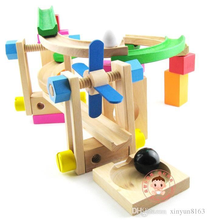 Großhandel Holzspielzeug Weihnachtsgeschenk Für Children Learning ...