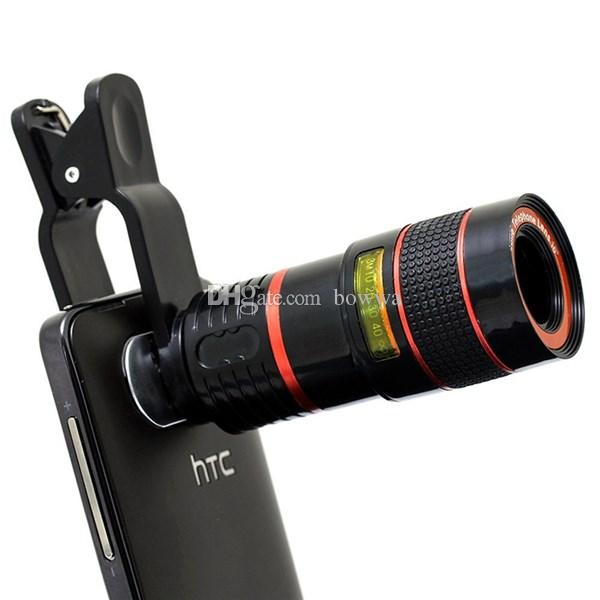 67d32488f24354 2019 Universal 8X Optical Zoom Telescope Camera Lens Clip Mobile Phone  Telescope For IPhone6 For Samsung For HTC For Huawei Xiaomi From Bowwa, ...