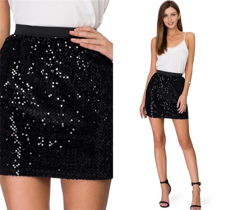 Black evening wear skirts