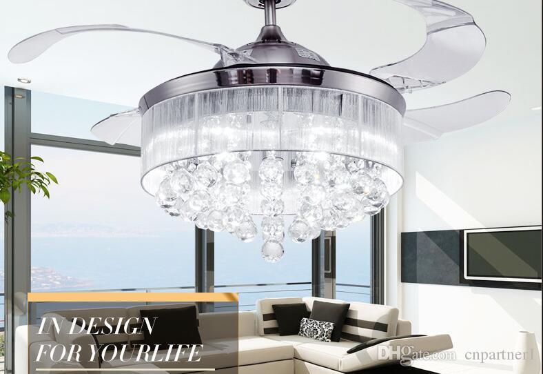 Moderne Lampen 72 : Großhandel 2018 led deckenventilatoren licht 72 watt invisible